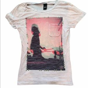 Obey embellished graphic tee